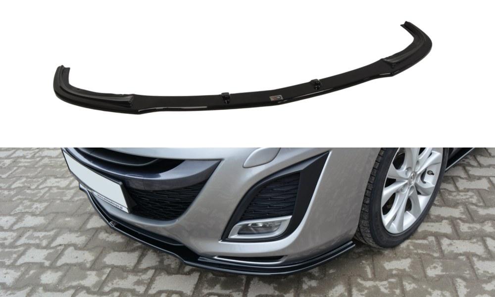 Splitter Przedni Mazda 3 MK2 Sport Przedlift - GRUBYGARAGE - Sklep Tuningowy